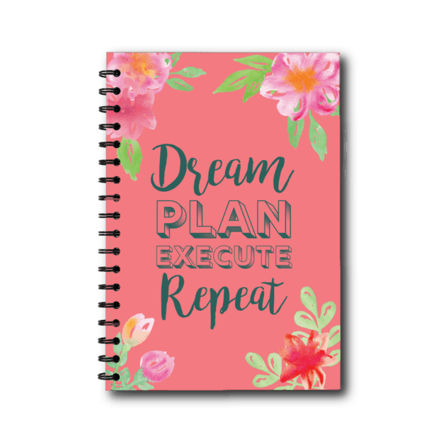 Deluxe Keto Planner Pink Cover