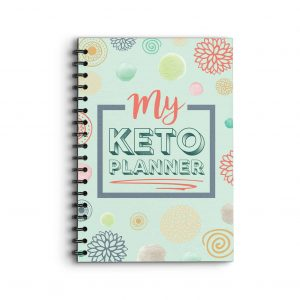 Deluxe Planner 'My Keto Planner' on front cover