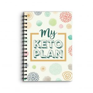 Deluxe Planner 'My Keto Plan' on cover