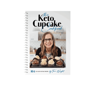 The Keto Cupcake Cookbook Spiral Bound